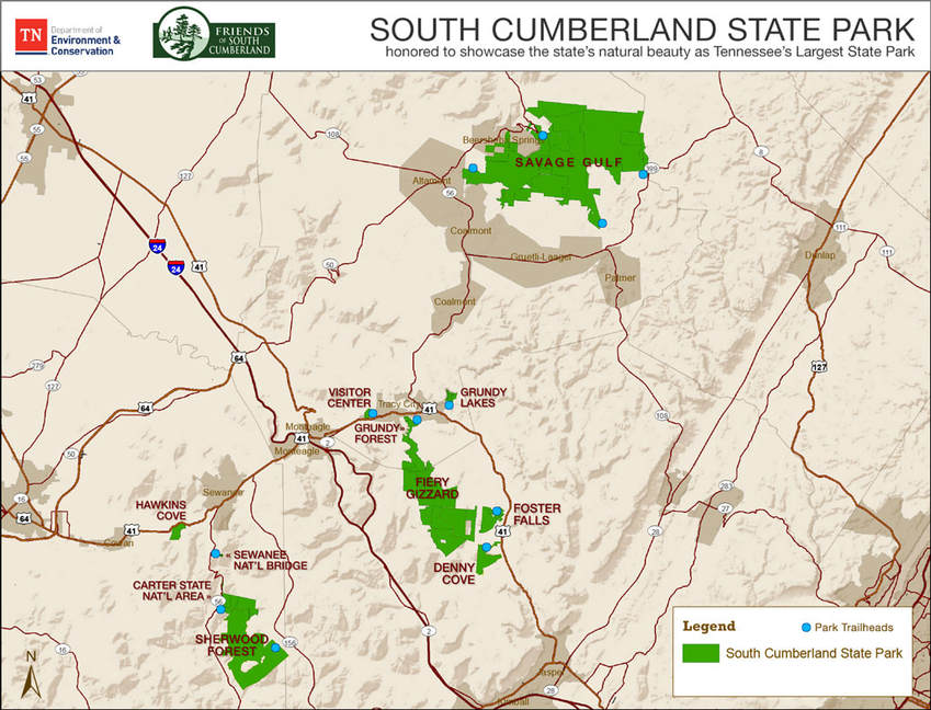 Park Overview - Friends of South Cumberland State Park